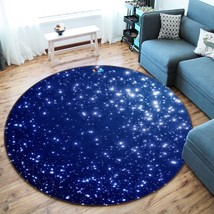 3D Shining Stars 05 Non Slip Rug Mat Room Mat Round Quality Elegant Carpet AU - $65.41+