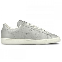 Nike Tennis Classic PRM QS (GS) Metallic Silver Girls Casual Shoes 872818 001 - $54.95