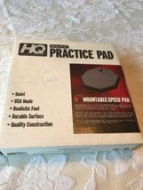 """New! Evans REAL FEEL Practice Pad - 6"""" Mountable Speed 1-Sided Practice Pad - $19.80"""