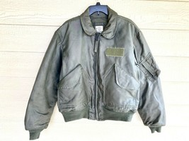 1995 USAF GREEN NOMEX FIRE RESISTANT COLD WEATHER FLYERS JACKET CWU-45/P... - $123.75