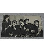 1960's Carnival Arcade Card Rock Group The Rolling Stones - $10.00