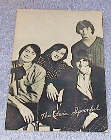 1960's Carnival Arcade Card  Rock Group The Lovin Spoonful