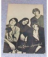1960's Carnival Arcade Card  Rock Group The Lovin Spoonful - $7.00