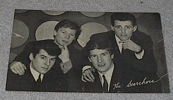 1960's Carnival Arcade Card, Pop Vocal Group The Searchers