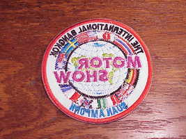 New International Bangkok Motor Show Patch, Thailand image 2