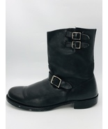 FRYE Men's Rand Engineer Boots 87240 Black Leather Size 13D - $139.99