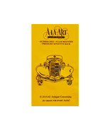 A La Art Stamp Crafters Antique Convertible Rubber Cling Stamp #H20-014U - $4.45