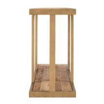 Grandth Gold with Reclaimed Wood Console Table - $594.19