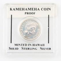 1976 Ahualoa Land Bank Silver Proof Token Coin Kamehameha Hawaiian Mint (2MB-3) - $267.30