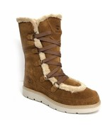 TIMBERLAND A1H35 KENNISTON TALL WOMEN'S FAUX FUR WINTER BOOTS - $109.99