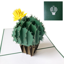 Cactus--3D Greeting Card, Pop Up Card, Pop Out Card - $5.47