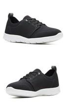 Clarks Step Allena Sun Women's Sneaker Casual Shoes, Black, Size 6 - $84.14