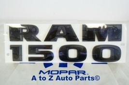 NEW 2012-2018 Dodge Ram 1500 FLAT Black 3D Door Emblem, OEM Mopar - $74.95