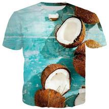"New Fashion Men/Women""s summer coconut tide 3D Print Casual T-Shirt Shor... - $33.80"