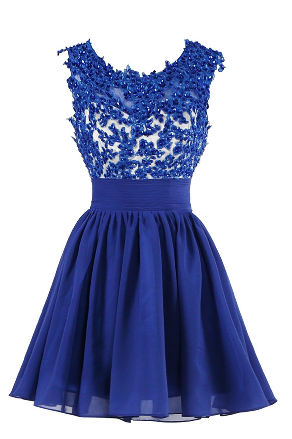 Primary image for Applique Beading Short Homecoming Dresses Lace Cocktail Prom Dresses Short 2017