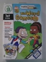 LEAPFROG LEAPPAD PLUS WRITING WILD WORDS GAMES NEW - $6.92