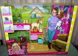 Barbie FARM VET Doll & Playset New - $34.50