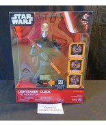 Star Wars Lightsaber The Inquisitor clock Spin Master  - $56.98