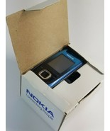 "2680S Nokia 2680 Cellphone 2G GSM 900 1800 1.8"" Blue Slide Phone In Orig... - $24.49"