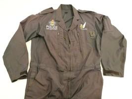 Genuine British Police Air Support Pilot Overalls Suit with Original Emb... - $242.25