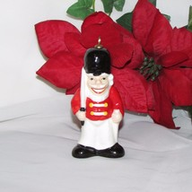 VINTAGE GOEBEL CHRISTMAS ORNAMENT TOY SOLDIER 1981 HAND PAINTED W GERMANY - $12.63