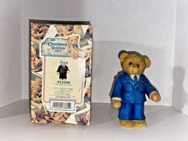 """Cherished Teddies """"The Sky's The Limit"""" Airforce Figurine - $24.99"""