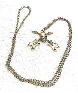 Necklace Jewelry Vintage Metal Skull Guitars Chain - $8.33