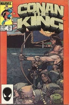 (CB-11) 1985 Marvel Comic Book: Conan the King #26 - $3.00