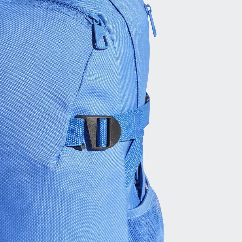 ... Adidas 3-Stripes Power Backpack Rucksack Work Sports Gym School Bag  CG0494 Blue 4fed232c3df0a
