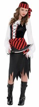 Amscan Buccaneer Beauty Pirate Costume - Large - $34.29