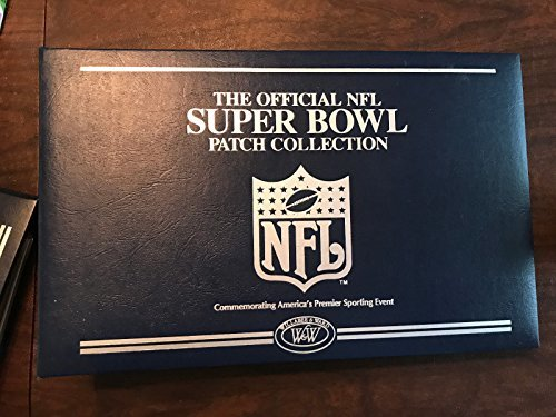 Official NFL Super Bowl Patch Collection (1-35) Issued by Willabee & Ward. Shipp