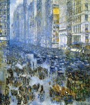 The Museum Outlet - Fifth Avenue in Winter, 191... - $98.01