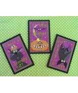 Triple Treat Halloween Ornament cross stitch kit  Val's Stuff    - $18.00