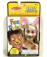 Melissa Doug Face Painting Design Kit Craft Activity Set Book Travel Pla... - $13.87