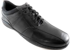 Rockport Bike Men's Black Leather Oxford Shoes Wide(W), M78822 - $62.39