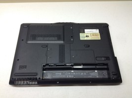 HP dv2000 dv2120us Bottom Case 417093-001 With Covers USB Audio Spkrs + ... - $15.81