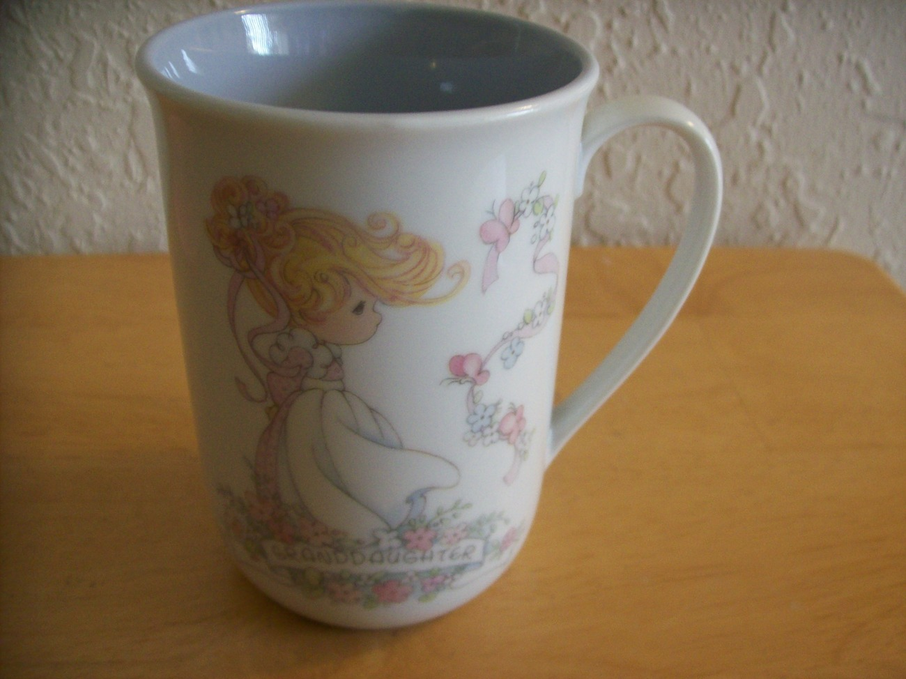 "1993 Precious Moments ""Granddaughter"" Coffee Cup"