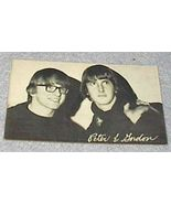 1960's Carnival Arcade Card Pop Vocal Group Peter and Gordon - $7.00