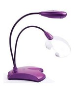 Mighty Bright Purple Vusion 2 Craft Light & Mag... - $36.00