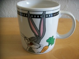 1999 Looney Tunes Bugs Bunny Portrait Coffee Mug by Gibson  image 2