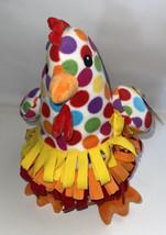 "Melissa & Doug DOTTY  Chicken Rainbow Polka Dot Plush Sensory 24"" Plush NWT - $24.75"