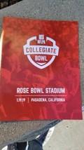 2019 NFLPA COLLEGIATE BOWL ALL STAR PROGRAM MICHIGAN USC PENN ST NOTRE D... - $12.86
