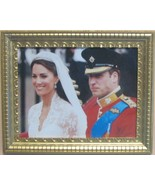 DOLLHOUSE Will & Kate After Wedding Photo Jacquelines 9972 Royal Miniature - $5.50