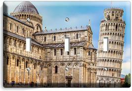 ITALIAN LEANING TOWER OF PISA EUROPEAN TRAVEL 3 GANG LIGHT SWITCH PLATE ... - $16.19