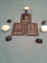 Deste Reading with THREE CARDS. Katina's cards Divination - $6.33