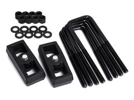"1"" Rear Steel Lift Kit Fits 2007-2020 Toyota Tundra 2WD 4WD Blocks + U-B... - $75.00"