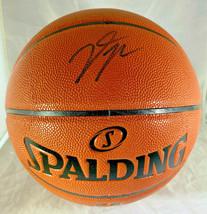 DONOVAN MITCHELL / UTAH JAZZ / AUTOGRAPHED FULL SIZE NBA LOGO BASKETBALL / COA image 1