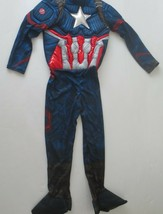 Marvel Endgame Captain America Kids Costume With Mask L (12-14) - NWT - $16.99