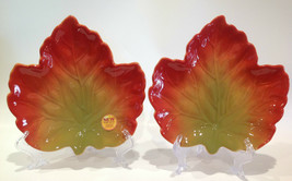 """Better Homes and Gardens 8-1/2"""" Leaf Plates Heritage Collection Set of 2 - $24.99"""