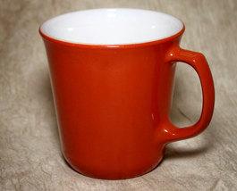 Vintage Pyrex Rust Colored Coffee Mug 10 95